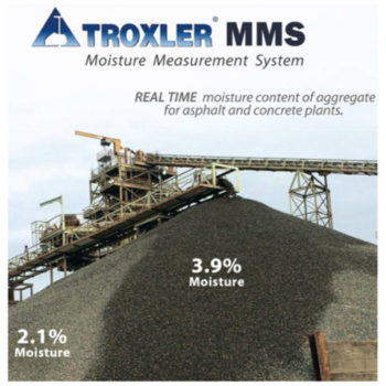 Troxler Moisture Measurement System
